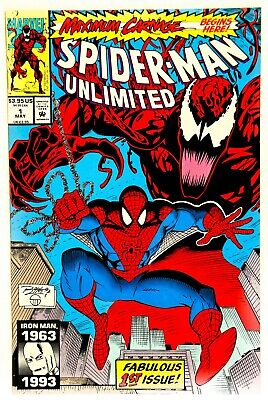 Spider-Man Unlimited #1 Maximum Carnage Marvel Comics May 1993 VF/NM 9.0 Sharp
