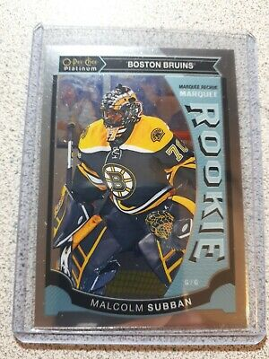 2015-16 O-pee-chee Platinum Marquee Rookie Malcolm Subban  - Boston Bruins