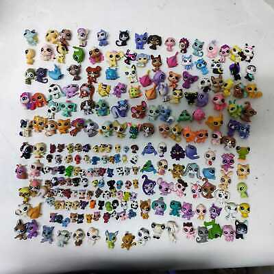 Random Lot40PCS (20x big +20x mini ) Littlest pet shop LPS Animals - No Repeat
