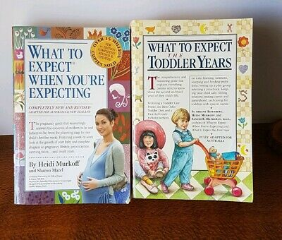 What to Expect When You're Expecting and Toddler Years by Heidi Murkoff Bundle