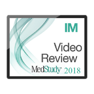 MEDSTUDY VIDEO BOARD Review of Internal Medicine 2017 Syllabus Great