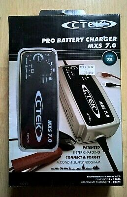 CTEK MXS 7.0 12V/7A PRO Battery Maintenance Charger