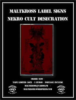 Nekro Cvlt Desecration – Nekrosatani Alcoholocausto – Tape – 2016 – Maltkross