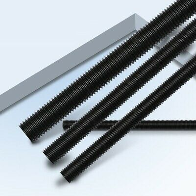 12.9 High Tensile - Fully Threaded Studs Rods Bar Self Colours - M2 M2.5 M3 M4