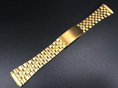 """Armis/Bracelet Watch Type Omega-Seiko Gold Plated 16Mm-21Mm """"Old Stock 70´S"""""""