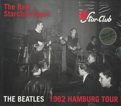 "The Beatles "" The Raw Starclub Tapes, Box 5 Cd+Dvd Sealed """
