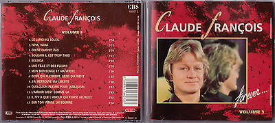 Cd 13T Claude François For Ever Vol.3 Best Of 1990 Etat Neuf