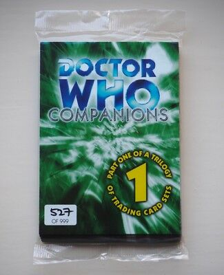 15 SEALED  Doctor Who Companion Strictly Ink part 1 of a trilogy of trading card