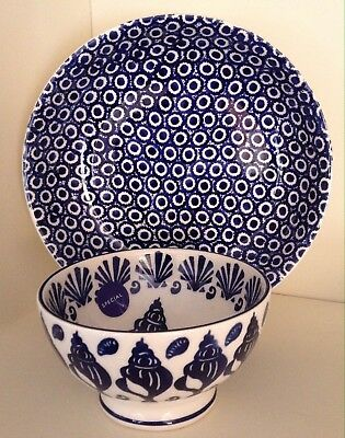 1st Emma Bridgewater Special Collectors Day  Blue One Off  Pasta Bowl