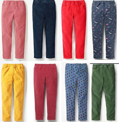 Girls MINI BODEN leggings cord trouser 3 4 5 6 7 8 9 10 11 12 yr RRP £20 - £24