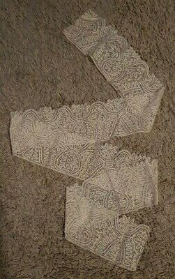 Antique Milanese Style Lace edging - 165cm