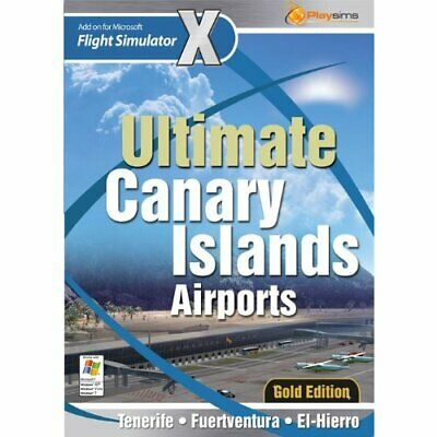PC CD ROM Game ULTIMATE CANARY ISLAND AIRPORTS  Cheapest on eBay PC