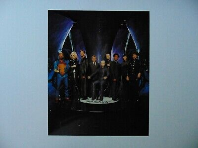 """""""Earth: Final Conflict"""" Jayne Heitmeyer Signed 8X10 Color Photo Todd Mueller COA"""