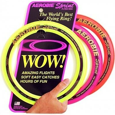 WOW Aerobie Frisbee 10 inch Sprint Flying Ring Garden Game