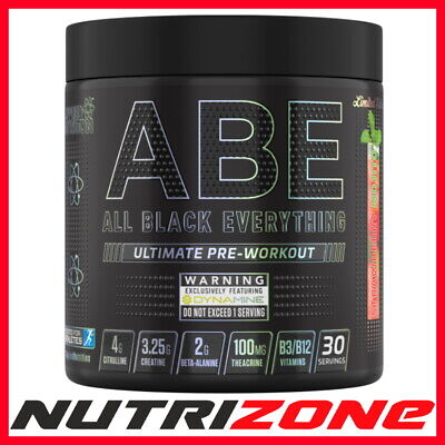 APPLIED NUTRITION ABE ALL BLACK Ultimate Pre Workout Creatine Alanine Taurine