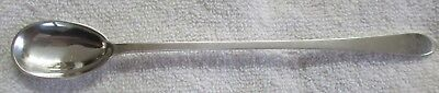 Faneuil Tiffany Sterling Silver iced teaspoon beverage parfait spoon mono 2018 a