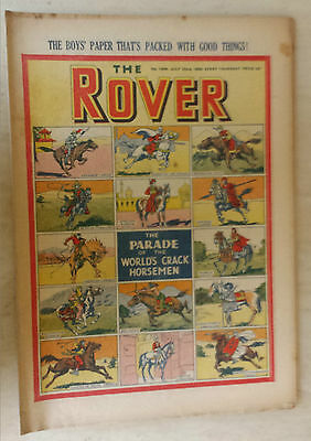 Comic- THE ROVER, NO 1308, 22nd July 1950