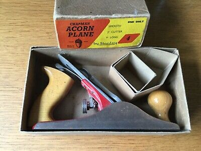 Vintage Chapman Acorn Plane No 4 By Stanley in Original Box