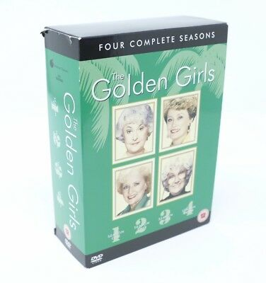 The Golden Girls Complete DVD Boxset Seasons Series 1-4 1 2 3 4