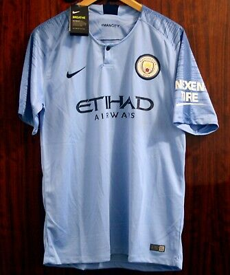 size 40 bf6f2 8752b MANCHESTER CITY CUSTOM Jersey Home or Away, full ...