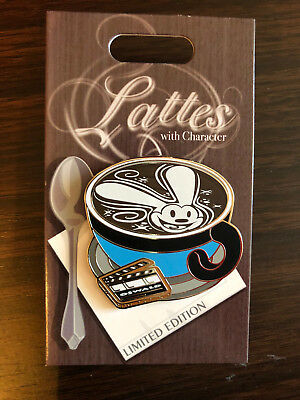Disney Trading Latte Lattes With Character Series Oswald The Lucky Rabbit Pin