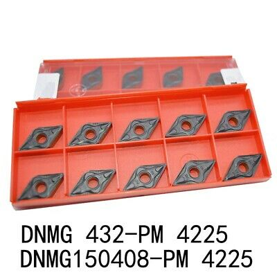 PM 4225 DNMG 442 PM lathe turning carbide inserts for steel 100pcs DNMG 150608