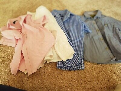 4 X Boys Shirts Age 4yrs Ted Baker/2x Duck&Dodge/M&S Fab Condition 👍