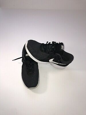 2b4660415a158 Nike Women s Revolution 4 Running Shoes 908999 001 Black White Anthracite