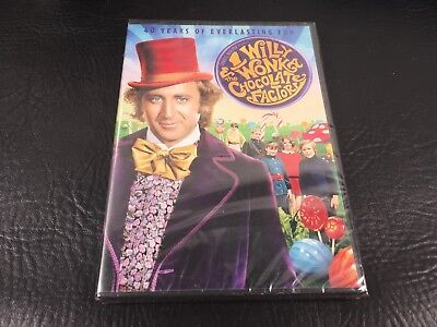 Willy Wonka and the Chocolate Factory (DVD) NEW Gene WIlder
