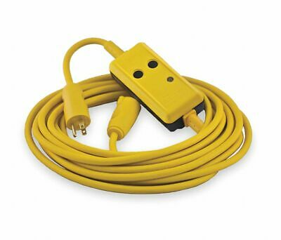 Hubbell GFP25C15M Circuit Guard GFCI Protected Extension Cord 25 FT  SHIPS FREE!