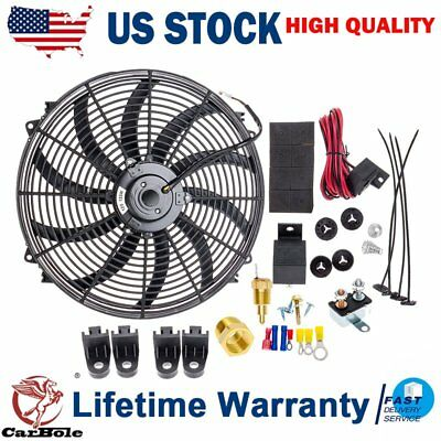 TOYOTA LAND CRUISER 93-97 TWIN FFD ELECTRONIC FAN CONVERSION SYSTEM MORE MPG HP