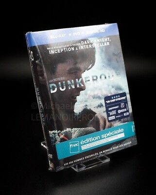DUNKERQUE  + Blu-Ray + Dvd + DIGITAL HD- Edition FNAC- OUT OF STOCK NEW
