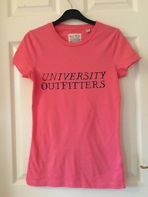 1636809bb JACK WILLS LADIES Stripped White And Pink Shirt Size 8 - $13.01 ...