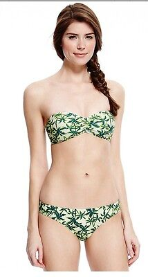 Marks & Spencer's Limited Edition Bandeau Bikini Top & Hipsters Various Sizes