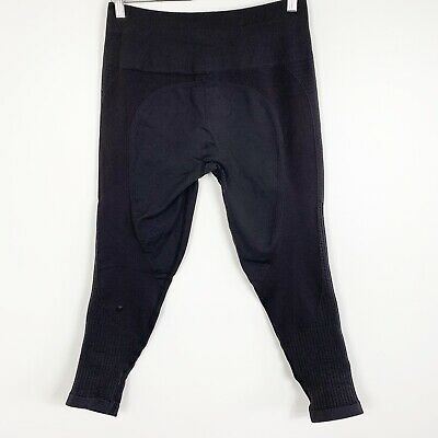 6d95088dc08f3f Lululemon Zone In Tight Black High Rise Compression Legging Yoga Pant Size  12