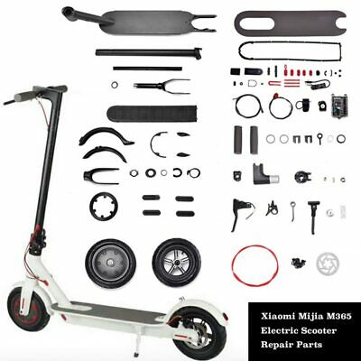 Xiaomi Mijia M365 Electric Scooter Murdguard Fender Kickstand Light Clasped