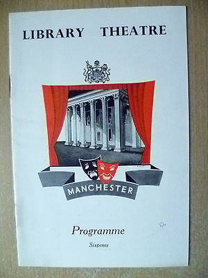 Library Theatre Programme 1956- DOCTOR ANGELUS by James Bridie