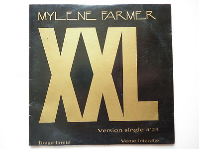 Mylene Farmer cd Promo XXL