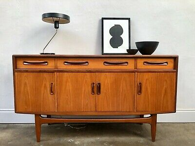 1960s G Plan Fresco Teak Sideboard. Danish Retro Vintage. DELIVERY