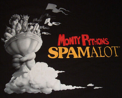 Spamalot Monty Python T Shirt Size S Im Not Dead Yet 2 Sided