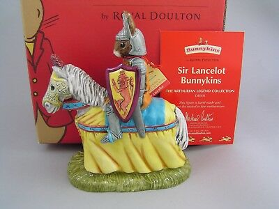 Royal Doulton Sir Lancelot Bunnykins Figurine, Db301 Boxed.