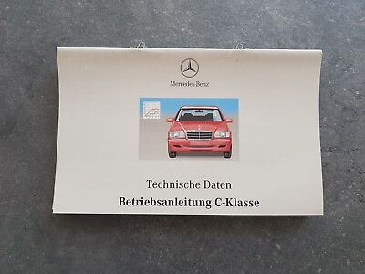 Mercedes C- klasse W202 Betriebsanleitung Handbücher Set Operation Manual Set