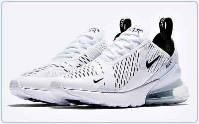 Nike Men's Air Max 270 white black white pink, 45 ab 125,90
