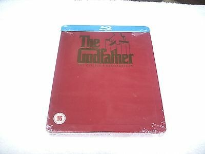 The Godfather Trilogy The Coppola Restoration Play.Com 4-Disc Blu Ray Steel Book