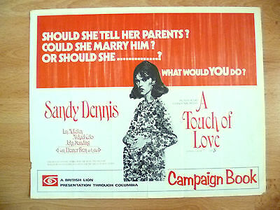 Campaign Book: Sandy Dennis & Eleanor Bron~ A TOUCH OF LOVE