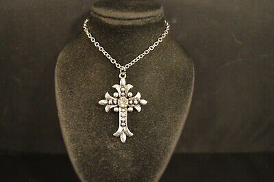 Stunning MEDIEVAL CROSS PENDANT - NECKLACE Jewelry NEW!  USA SELLER! Christian