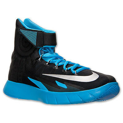 new concept 8fb43 8f08a AUTHENTIC NIKE Zoom HyperRev Black Blue Silver Basketball 630913 008 Men  size