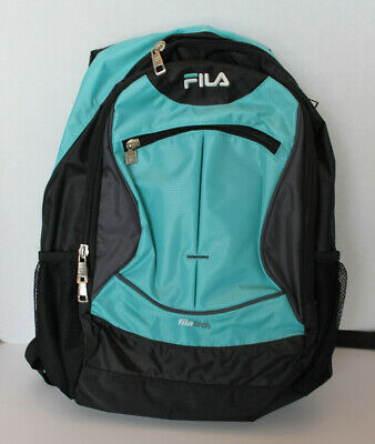 FILA TEMPO LAPTOP Backpack 15.6 inch Aqua Black NWT -  24.95
