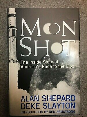 MOON SHOT 1st. ed. 1994 signed by Alan Shepard