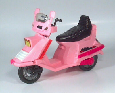 "Vintage 1980's Barbie Pink Arco Custom 5000 Action Scooter Moped For 11"" Dolls"
